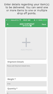 Delivery Plus Client App- screenshot thumbnail