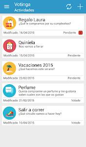 Votinga: Voting in Group screenshot 1