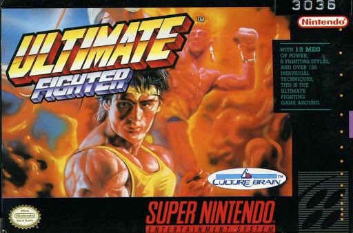 Video game:Super Nintendo Ultimate Fighter - Nintendo