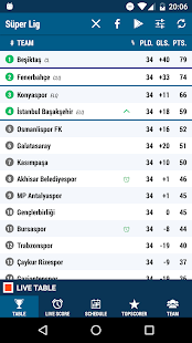Süper Lig- screenshot thumbnail