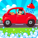 Amazing Car Wash For Kids FREE icon