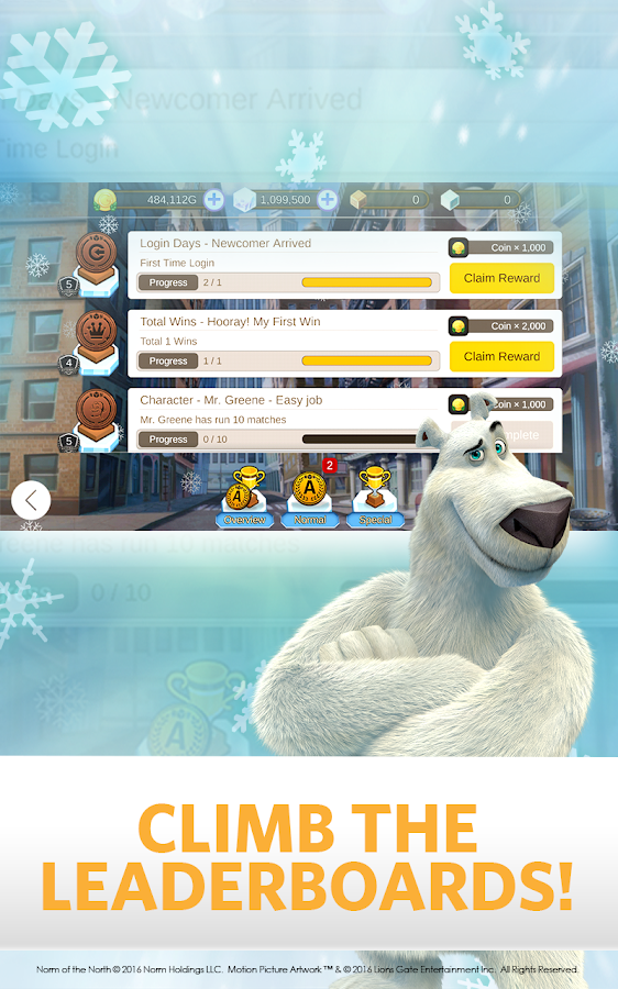 Arctic Dash: Norm of the North- screenshot