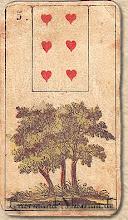 Photo: 1846 A legrégebbről fent maradt Lenormand jóskártya - 5. kártyakép