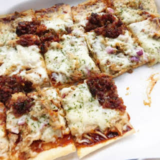 BBQ Pulled Pork Pizza.