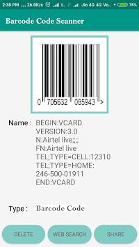 Qr Code Scanner Pro Apk Screenshot