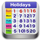 World Holiday Calendar 2017