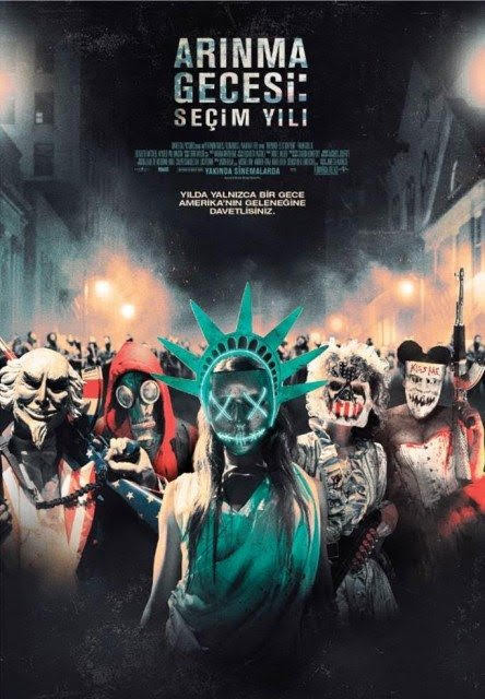 ARINMA GECESİ 3 SEÇİM YILI – The Purge:Election Year