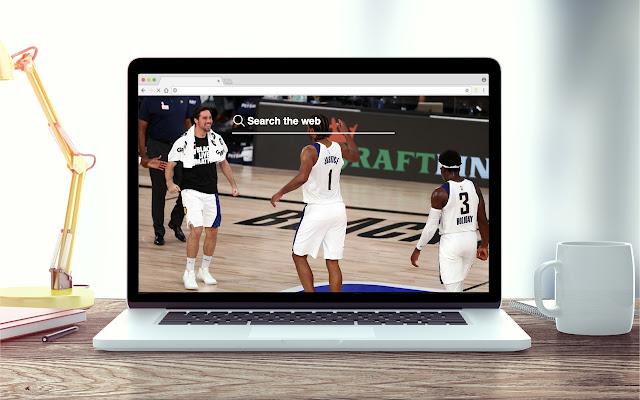 TJ Warren New Tab NBA Theme