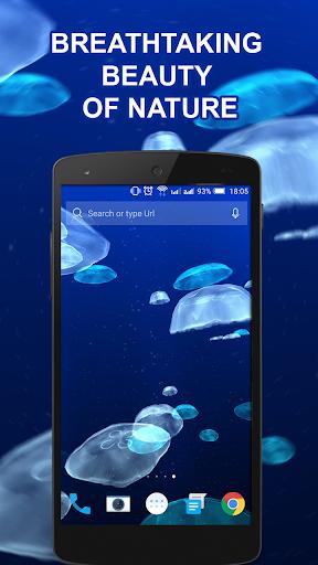 Jellyfishes 3D live wallpaper 2.0.5 screenshots 2