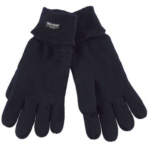 Thinsulate Lined Gloves - Navy
