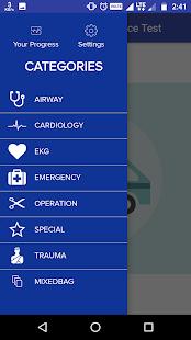 Paramedic Practice Test - náhled