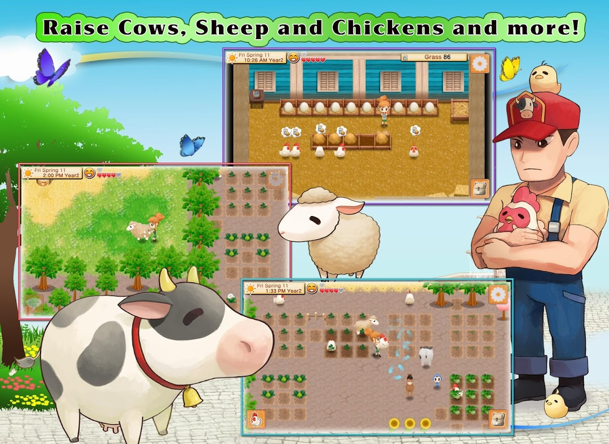 HARVEST MOON:Seeds Of Memories – zrzut ekranu