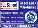 Best Project Oriented Video Training On MS SQL DBA