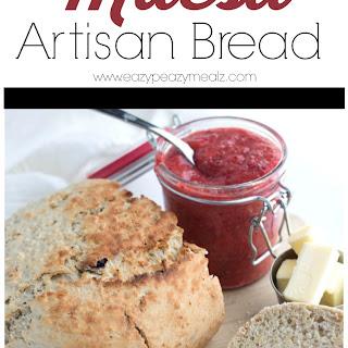 1.5 hr Slow Cooker Muesli Artisan Bread