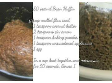 Single Serve Flax Seed Muffin