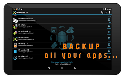My APKs Pro - backup manage apps apk advanced Screenshot