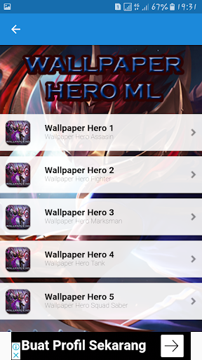 Wallpaper Mobile Legend HD 1.0 screenshots 2
