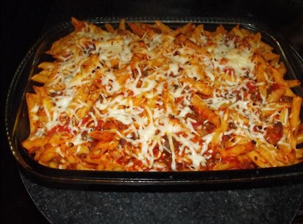 Penne Pasta Casserole Recipe