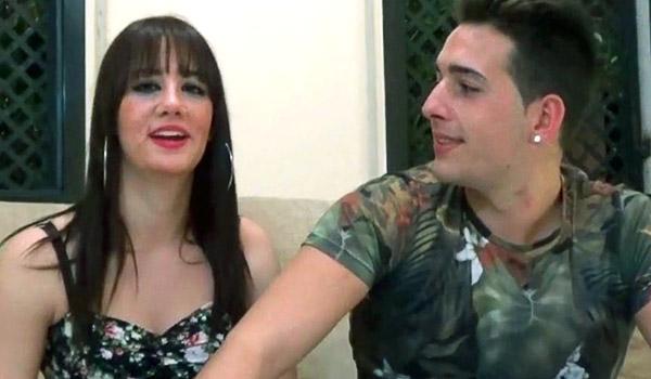 Nayra y Ricky: morenaza murciana y su novio chulazo debutan en el porno
