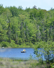 Photo: Good day for Fishing at Seyon Lodge State Park by Linda Carlsen Sperry