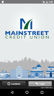 MainstreetCU Mobile- screenshot thumbnail