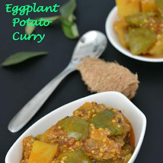 Green Eggplant Potato Curry