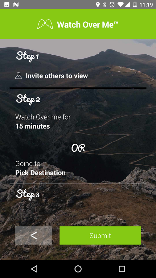 Snappy - Personal Safety App- screenshot