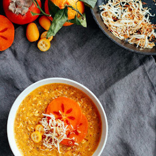 Turmeric Persimmon Porridge