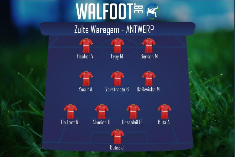 Zulte Waregem (Zulte Waregem - Antwerp)