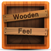 Wooden Feel CM Launcher Theme