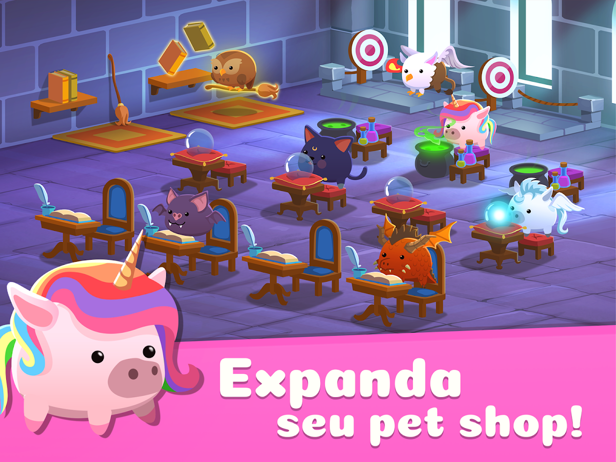 Animal Rescue - Cuide de Bichos no Seu Pet Shop: captura de tela