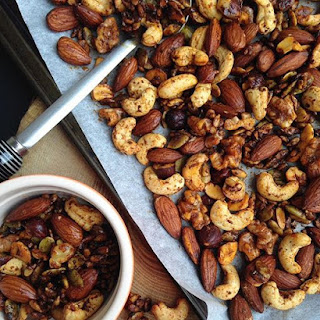 Spiced Maple Nuts.