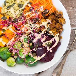 Fall Buddha Bowl with Quinoa