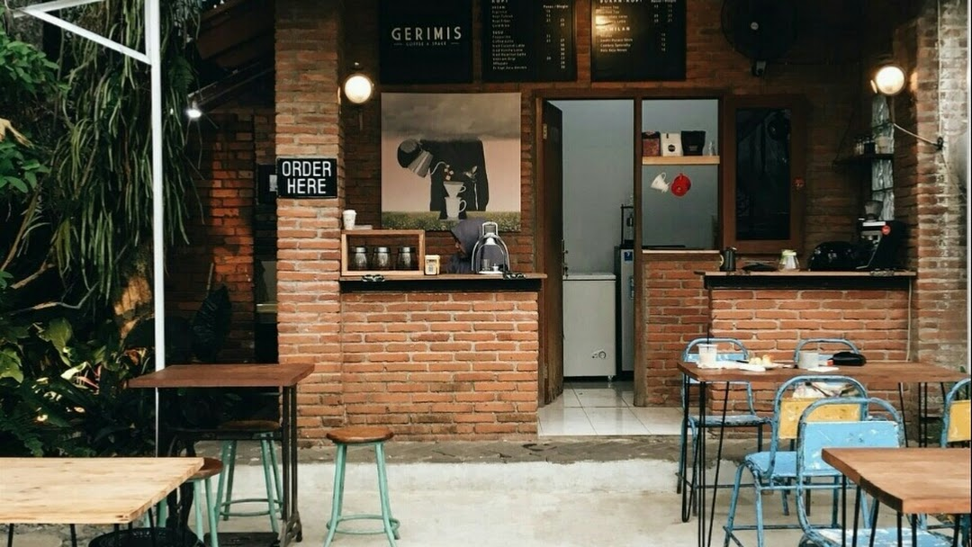 Gerimis Coffee And Space Coffee Shop