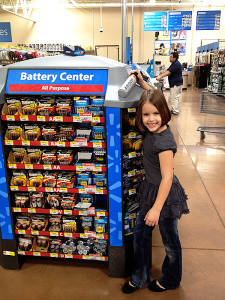Photo: We thought we would stock up on some Energizer batteries, you can never seem to have enough of these.