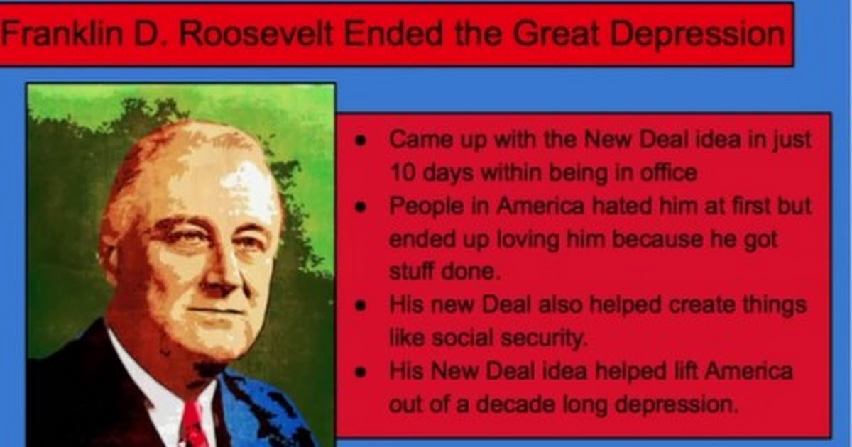 the objectives and impact of franklin roosevelts new deal Franklin delano roosevelt (30 january 1882 - 12 april 1945), and and often referred to by his initials fdr, was an american statesman and political leader who served as the president of the united states from 1933 to 1945.