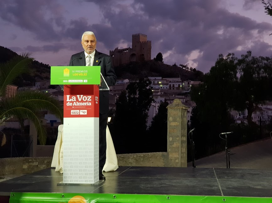 Antonio Cabrera, alcalde de Vélez Blanco, ha cerrado el acto.