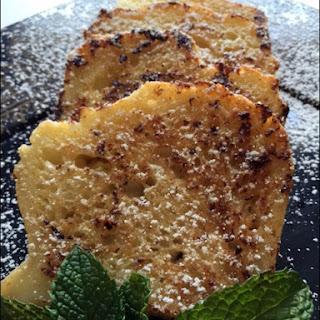 Gluten Free Crème Brûlée  French Toast