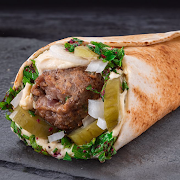 Grilled Beef Kafta Wrap