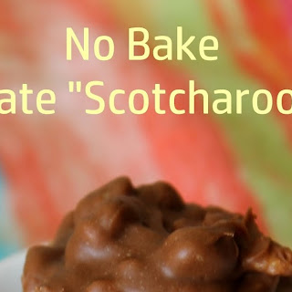 "No Bake Chocolate ""Scotcharoo"" Cups"