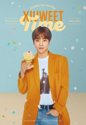EXO XIUMIN joins the military on May 7th and has a fan meeting on May 4th.