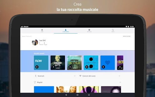 Deezer Music- miniatura screenshot