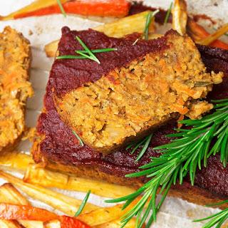 Lentil and Chickpea Meatloaf.