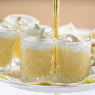 The Butler family's lemon meringue shots.