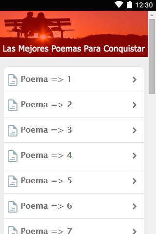 Poemas Para Enamorar