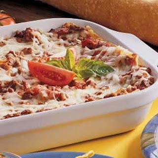 Oven-Ready Lasagna