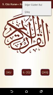 Kuran-ı Kerim 5.Cüz - náhled