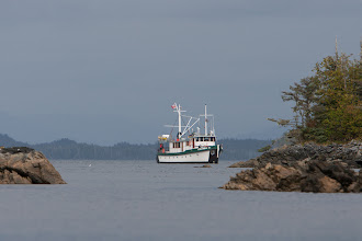 Photo: Our ship is like a moving oasis... it's always great to see it come by.