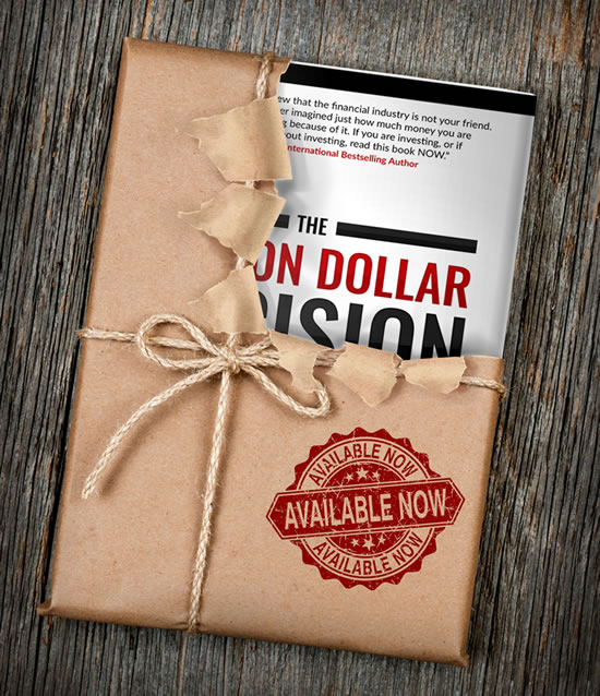The Million Dollar Decision book wrapped