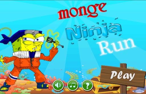 Monge Ninja Run